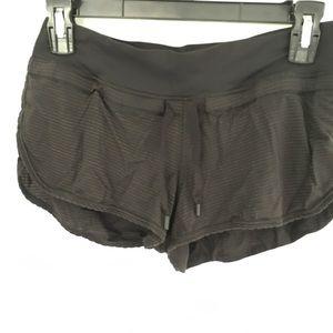 Lululemon Running shorts Sz 4